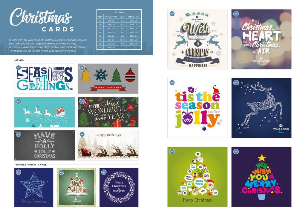 Christmas brochure