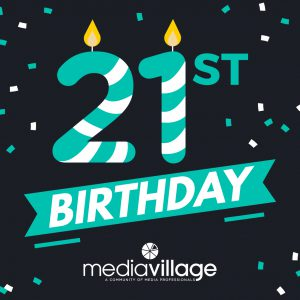 Media Village Birthday| Print| Marketing